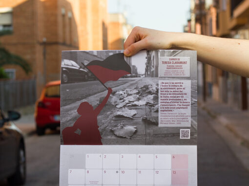 """Calendario """"Sabadell i les Dones… un passeig per la història"""""""